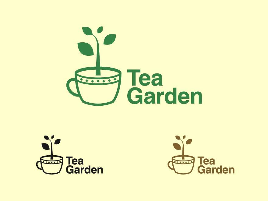 Tea Garden - Logos - Creattica