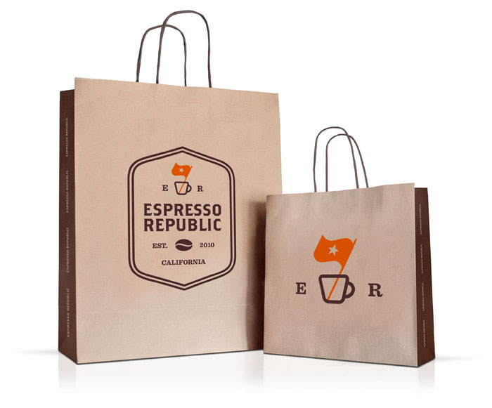 Espresso Republic - TheDieline.com - Package Design Blog