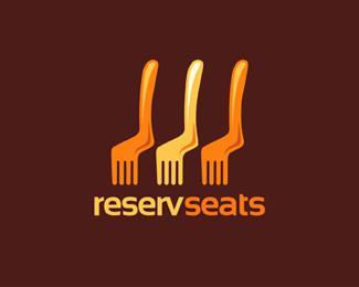 Reserve Seats - Logos - Creattica