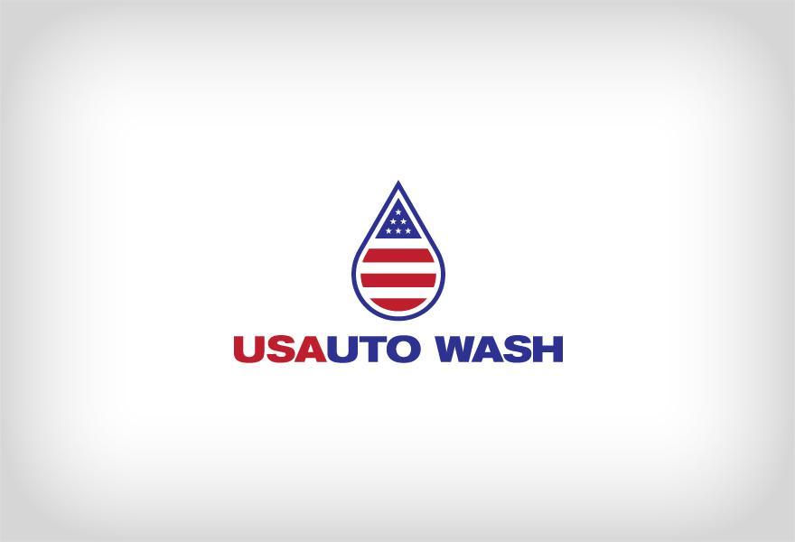 US Auto Wash - Logos - Creattica