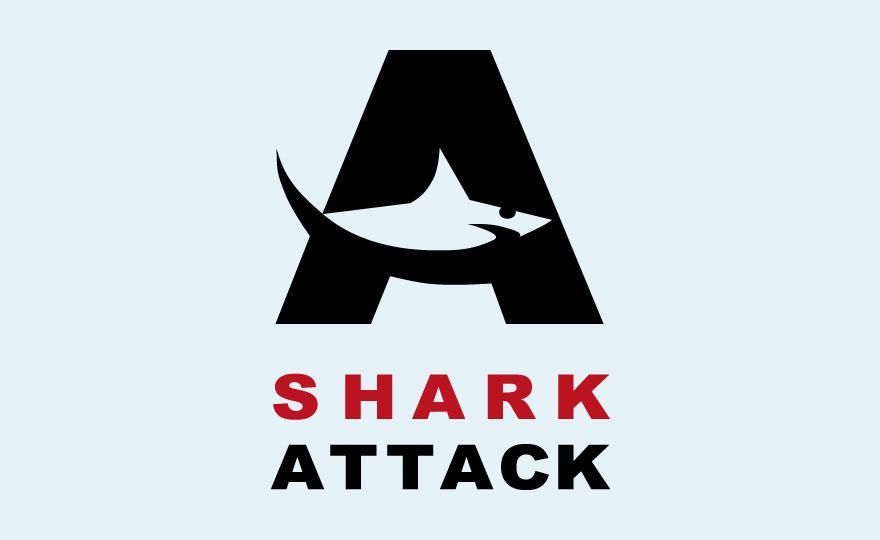 SHARK ATTACK - Logos - Creattica