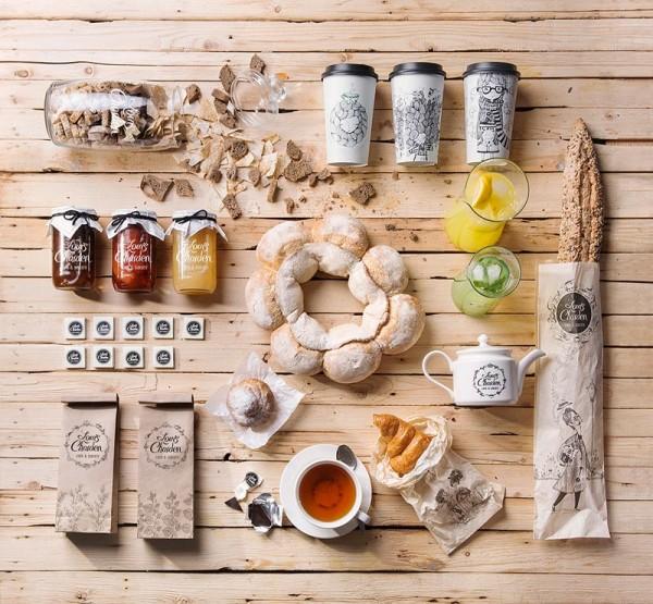 Louis Charden - Cafe & Bakery Identity by Backbone Branding