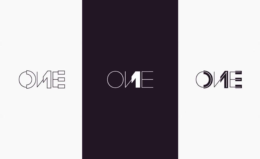 ONE - Logos - Creattica