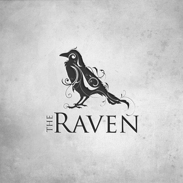 The Raven - Logos - Creattica