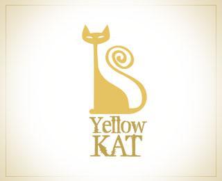 YellowKat - Logos - Creattica