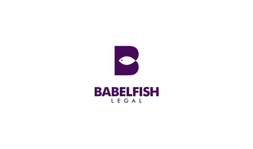 Babelfish Legal - Logos - Creattica