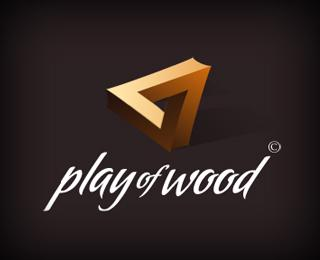 Play of Wood - Logos - Creattica