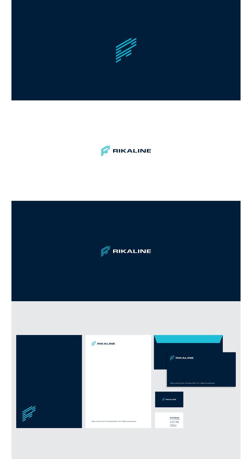 RIKALINE | visual identity - Logos - Creattica