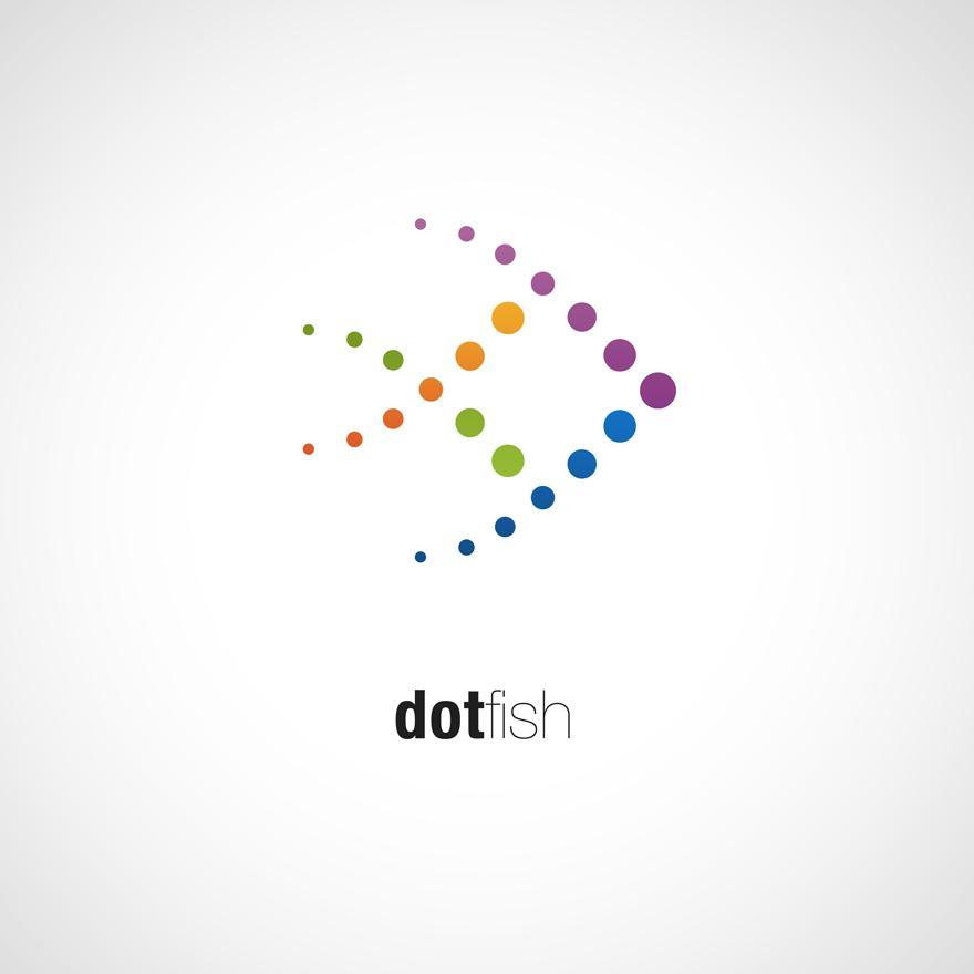 dotfish - Logos - Creattica