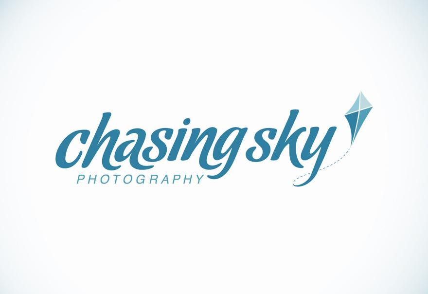 Chasing Sky Photography - Logos - Creattica