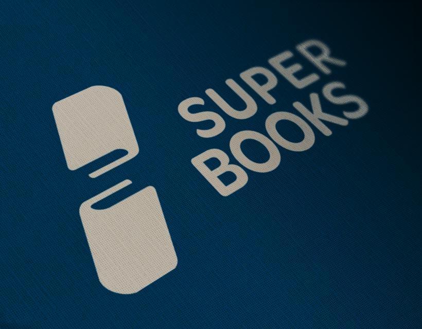 SuperBooks - Logos - Creattica