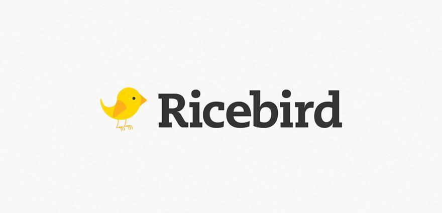 Ricebird - Logos - Creattica