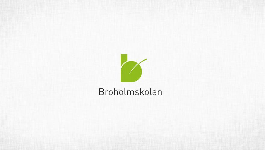 Broholmskolan - Logos - Creattica