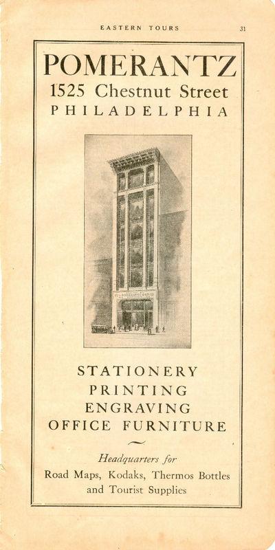 1928 Pomerantz Stationery Ad Philadelphia Pennsylvania | eBay