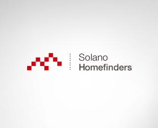 Solano Home Finders - Logos - Creattica