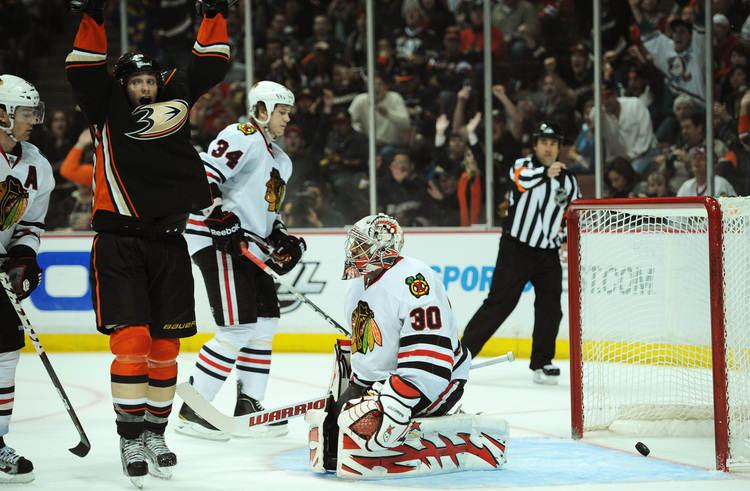 Chicago Blackhawks lose 3-1 to Anaheim Ducks - chicagotribune.com