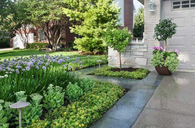 Friendship Garden - Contemporary - Landscape - chicago - by K&D Landscape Management