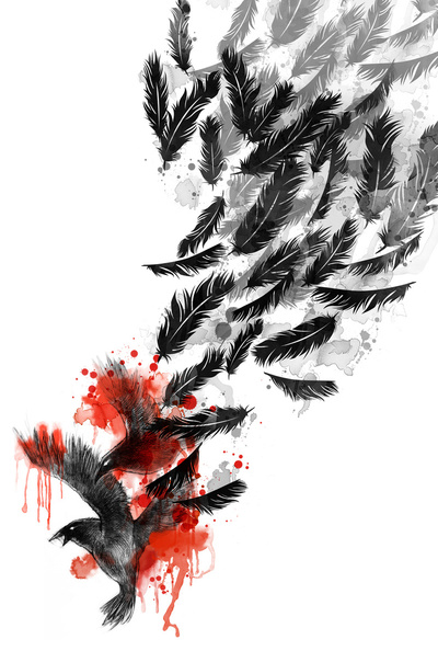 Another Long Fall Stretched Canvas by Jimmy Tan | Society6
