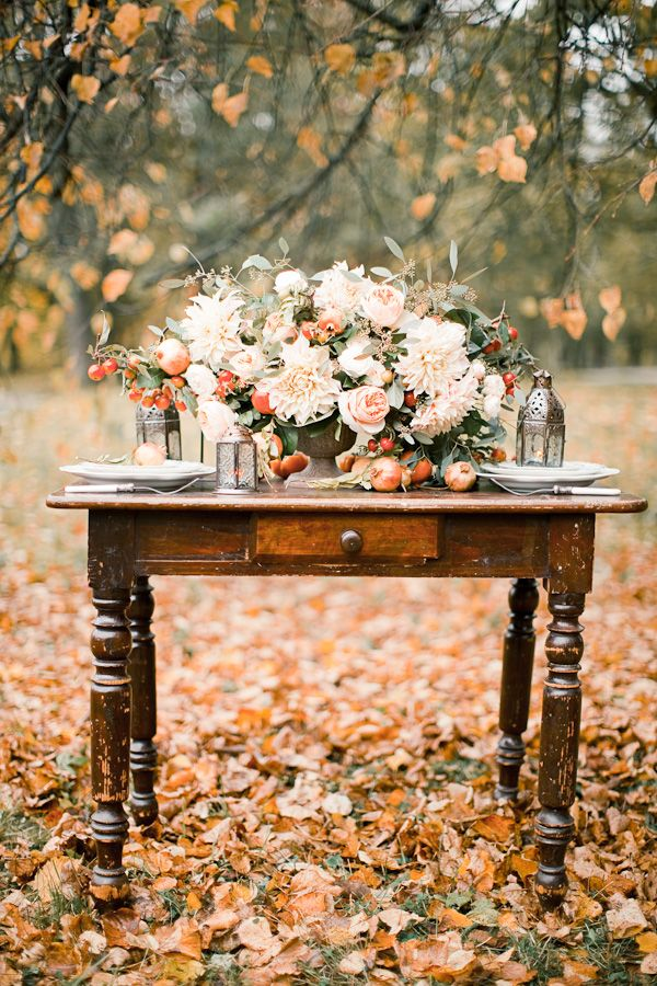 A beautiful backdrop of autumn leaves. | Autumn | Pinterest