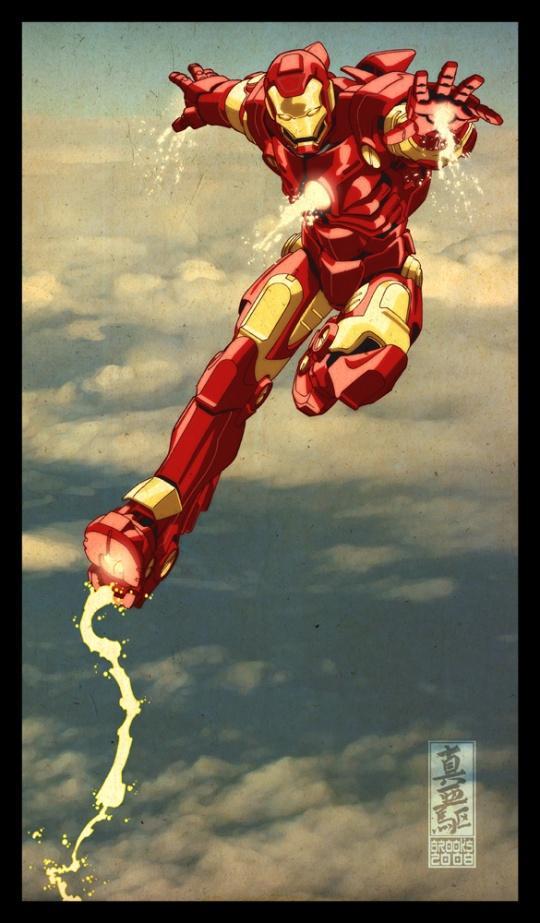 Super Heroes Illustrations   Cruzine