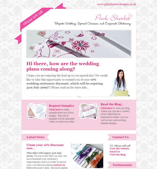 Newsletter Design: 50+ Great Examples   designrfix.com