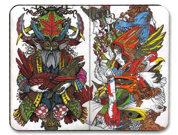 Small Sketchbook 2010 on Illustration Served