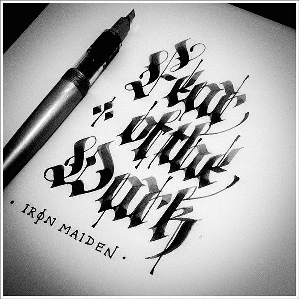 Beautiful Hand Lettering & Calligraphy Designs