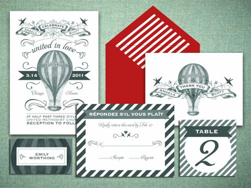 invitation inspiration / New Advertiser : Printable Paperie | Paper Crave
