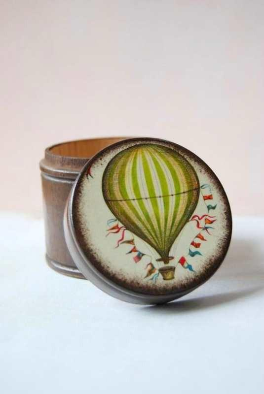 gift ideas / Above The World Box by Mmim on Etsy