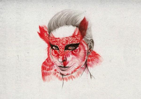 Peony Yip Animal Morphing Illustrations | Trendland: Fashion Blog & Trend Magazine