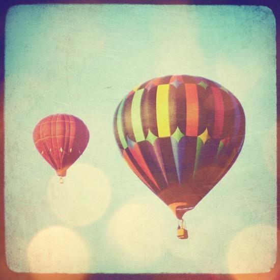 balloons / hot air balloon, hot aiiiiiiir balloon