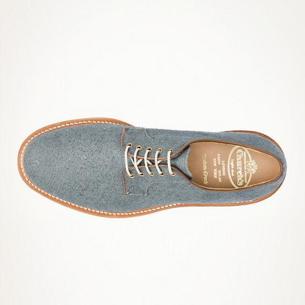 Fancy - Church's Turquoise Oxfords