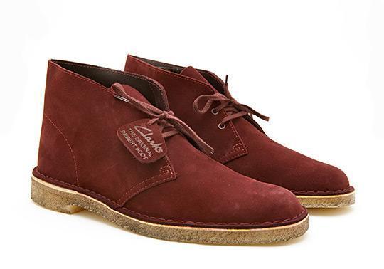 Fancy - Clarks Desert Boots in Suede | Selectism.com