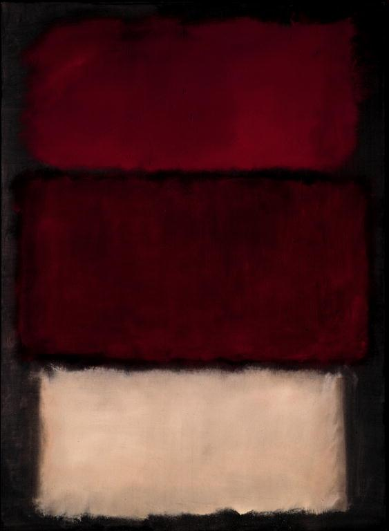 Coote d'état, Mark Rothko (1903-1970)