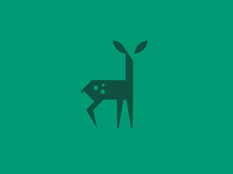 Büromarks - dribbblepopular: deer icon Original:...