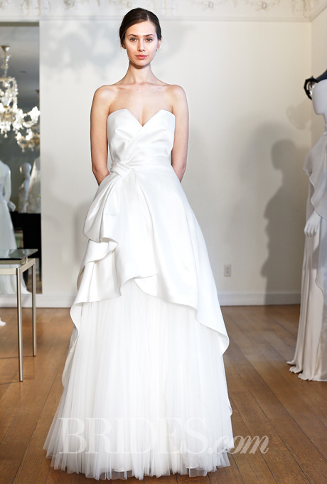 Alberta Ferretti Wedding Dresses Spring 2015 Bridal Runway Shows Brides.com | Wedding Dresses Style | Brides.com