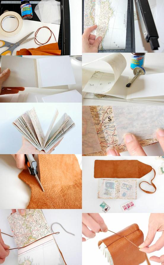DIY / bookhoucraftprojects: Project #81: DIY mini stamp collecting book