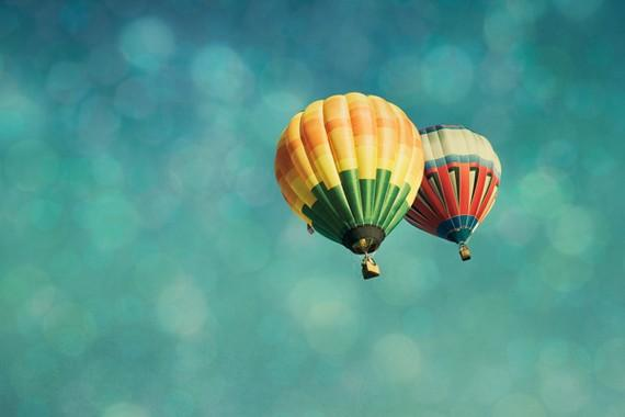 Hot Air Balloons 8x10 Fine Art Photography Print by by eyeful