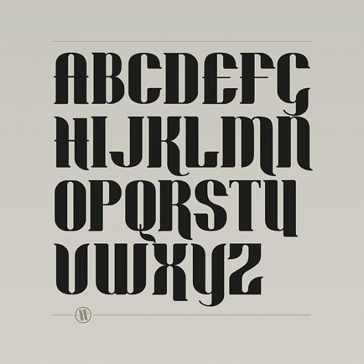 Designspiration — Dockyard Typeface on Typography Served