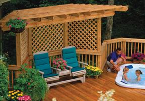 Wood Lattice | Universal Forest Products
