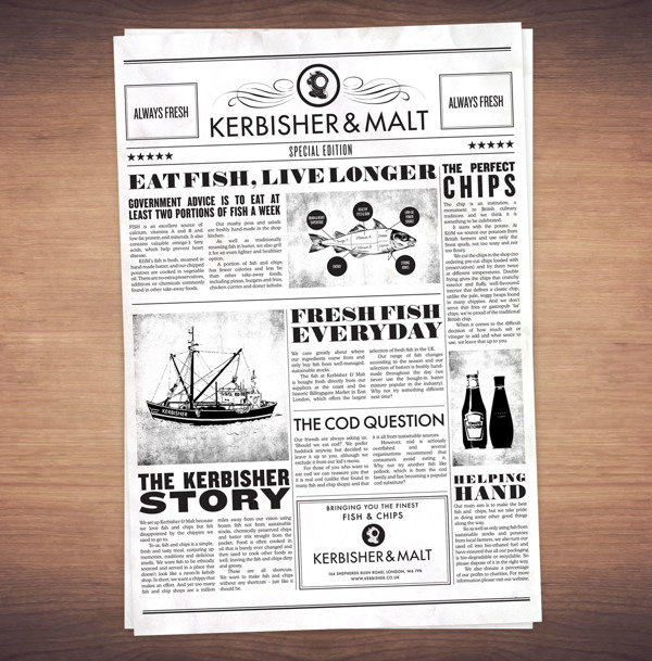 Kerbisher & Malt: Branding & Website on
