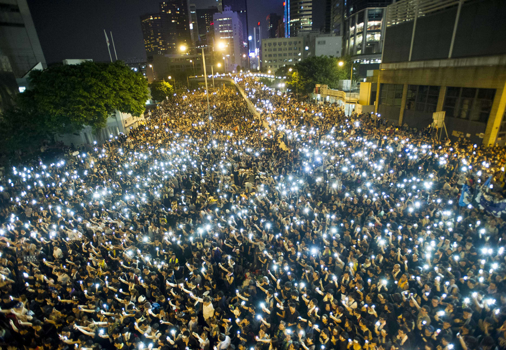 Hong Kong protesters refuse to leave | Photos | The Big Picture | Boston.com