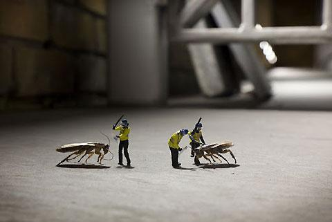 The Little People Project by Slinkachu — Lost At E Minor: For creative people