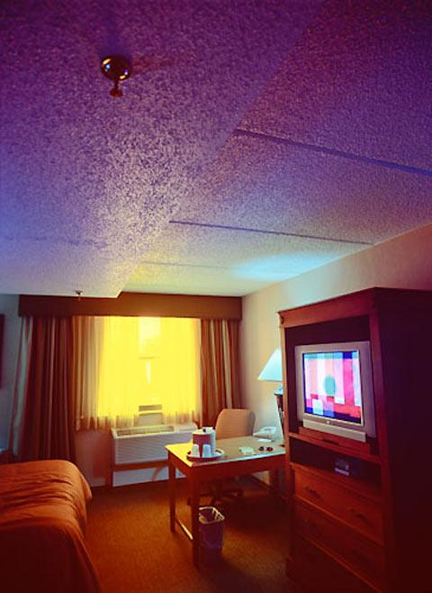 Colorful photos of hotel rooms by Brad Carlile — Lost At E Minor: For creative people