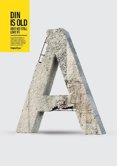 Designspiration — RespectType. - Miguel de la Garza