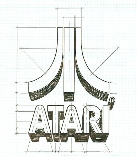 Designspiration — Brief Atari Brand History | Logoblink.com