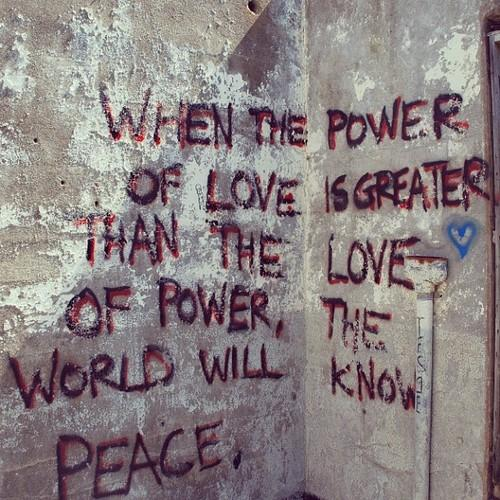 inspiring quote love power peace by emmajayepaterson | Instaview