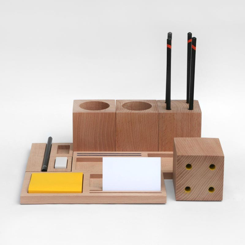 Organize Your Desk With Blocks by Kukka - The Fox Is Black