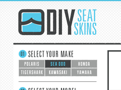 DIY SeatSkins Site by Queen City Studio