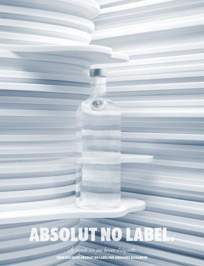 Designspiration — Absolut: No label | Ads of the World™